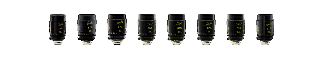 Cooke 7/i Prime Lenses T2.0